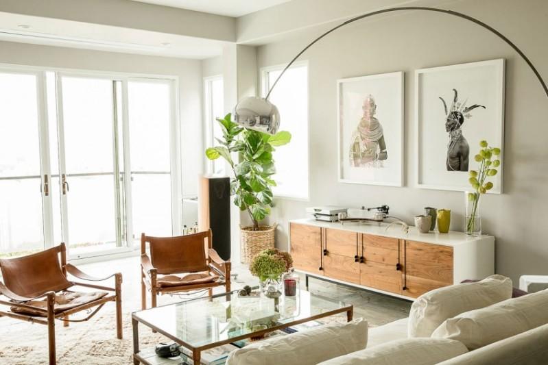 casa vintage con detalles de estética indie