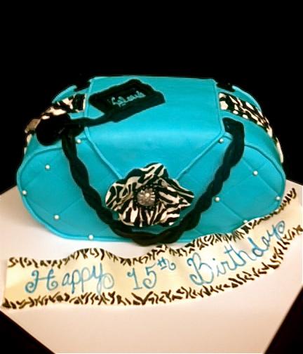 Sweet T s Cake Design: Zebra Caribbean Blue 3D sculpted ...