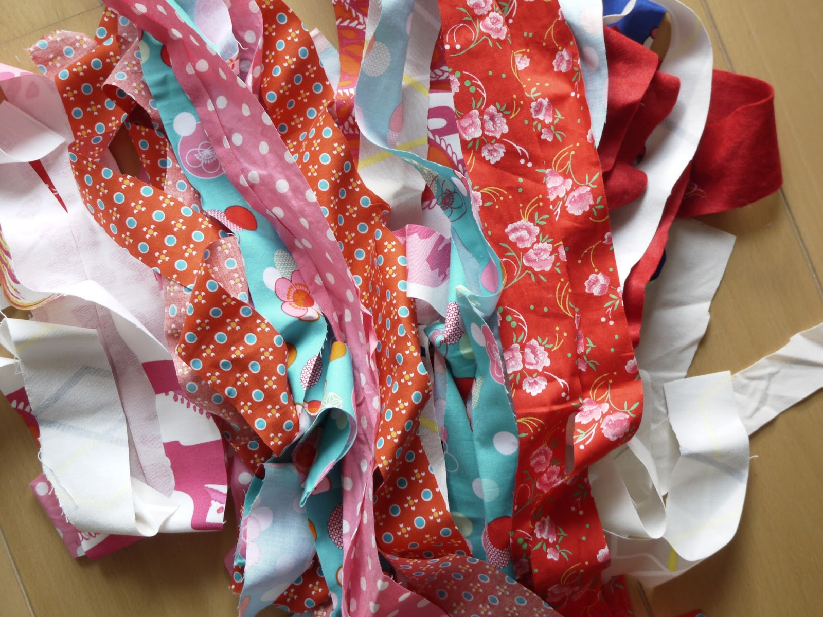 ruban tissu coloré