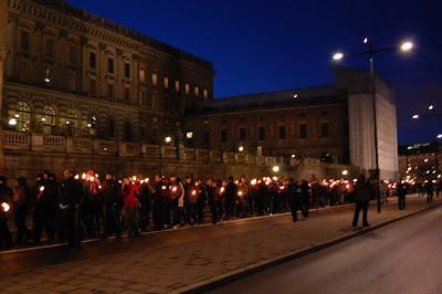 По центру столицы Швеции прошёл марш фашистов