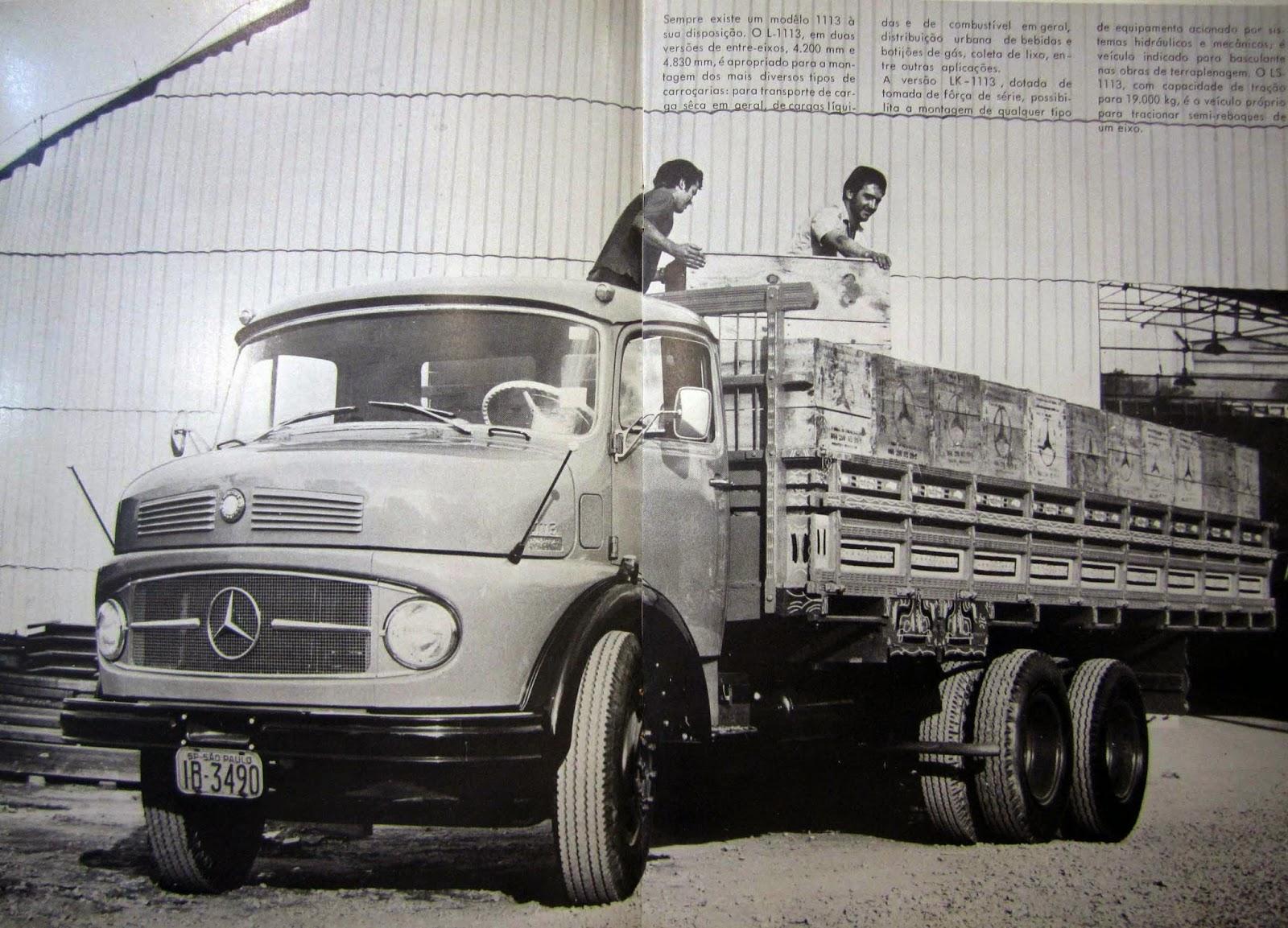 InfoCaminhão: Historia do Caminhão