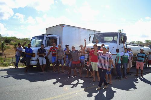 Protesto em Umari Interdita PE-90