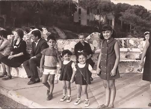 De pequeña en el Parque Güell | Foto: familia García