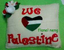 Palestine Felt Pillow