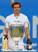 Andy Murray wins Queens Club