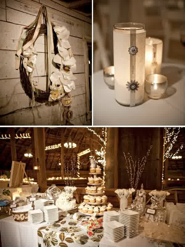 Creative Rustic Inexpensive Wedding Table Centerpieces | bridal ...