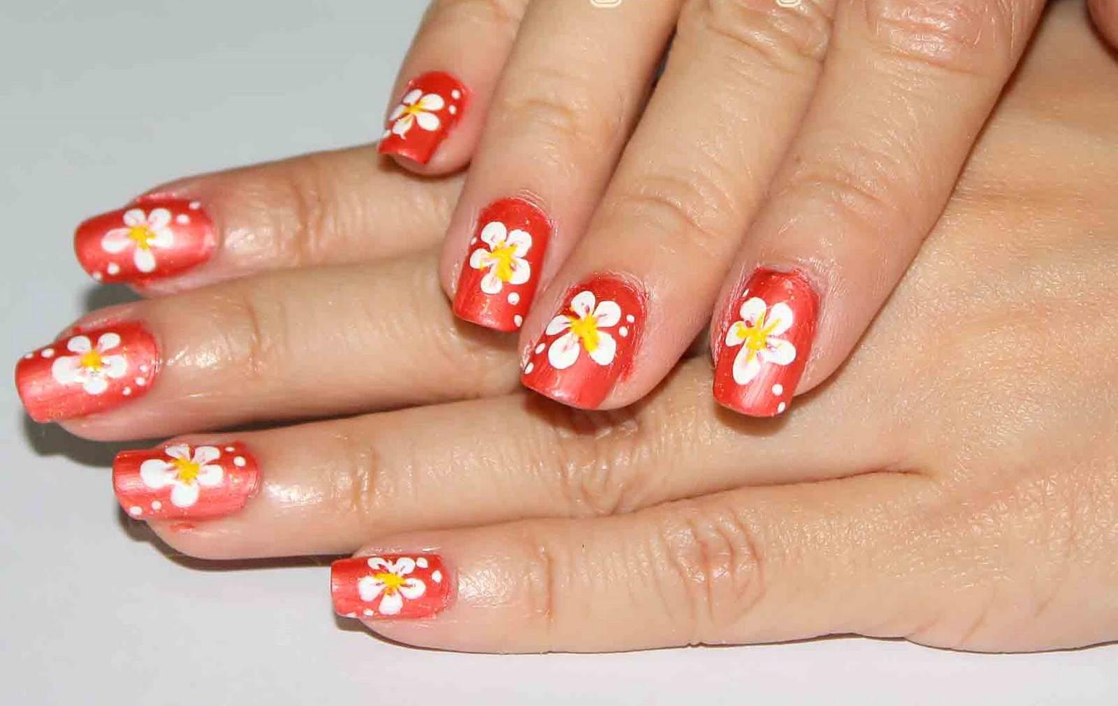 Acrylic nails simple nail art tutorial simple nail art tutorial prinsesfo Gallery