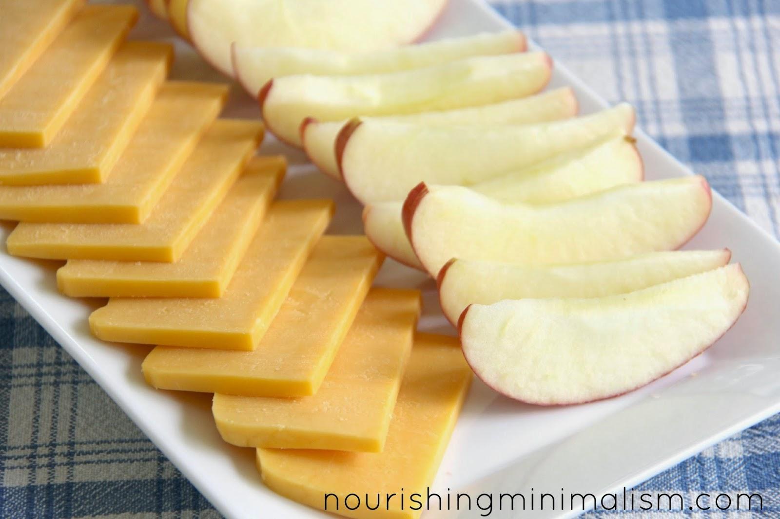Kết quả hình ảnh cho Apples and cheese