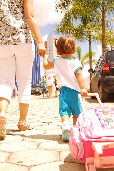 Primeiro Dia De Aula Dos Nossos Filhotes E Sempre Uma Mistura De