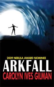 Portada original de Arkfall, de Carolyn Ives Gilman