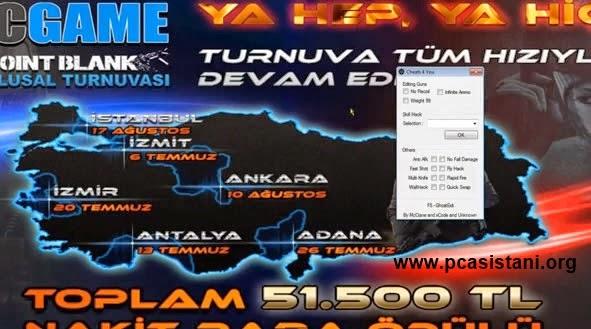 Pointblank TR 08.07.2014 Ölümsüzlük Hilesi - Fly Hack (Uçma Hilesi) 08 Temmuz 2014 Hile
