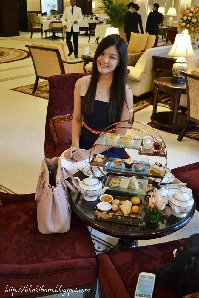 Majestic hotel high tea drawing room