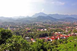Colline Phou Si Hill