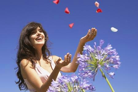happy-woman-girl-nature,springhealth_Tapping our Wild Feminine Energy
