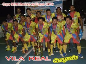 VILA REAL - CAMPEÃO 2012