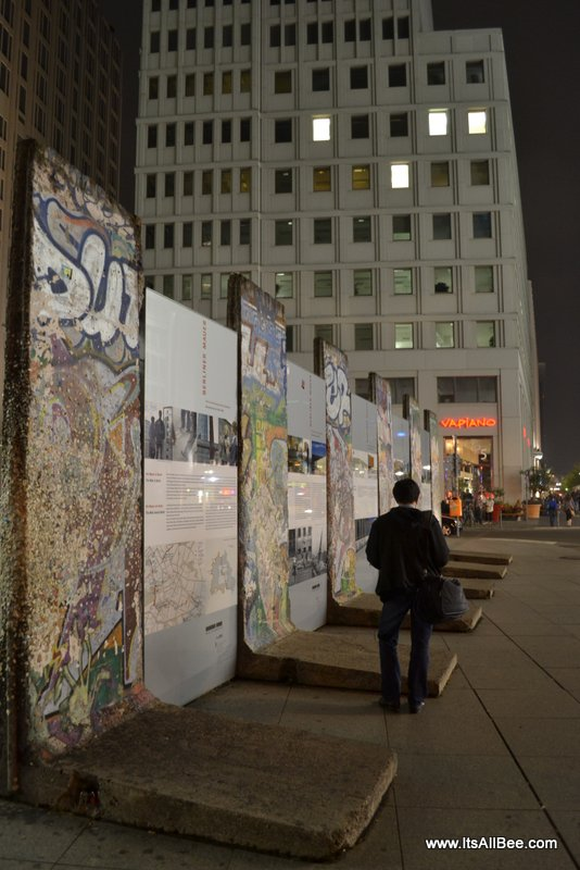 Berlin Wall remains