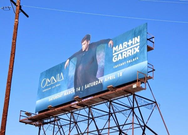 Martin Garrix Omnia nightclub Las Vegas billboard