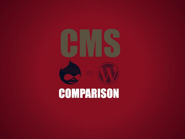 WordPress vs Drupal - Content Management System Comparison