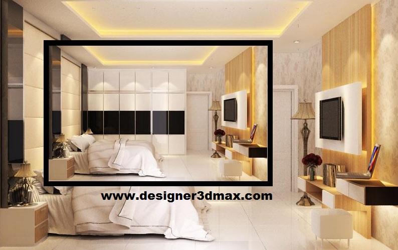 jasa desain ruko minimalis modern desain kamar tidur