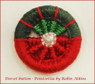 Dorset button made by Robin Atkins