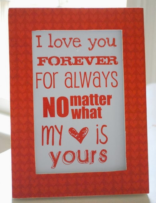 Beautiful Printable Valentine's Day Cards Husband 2014