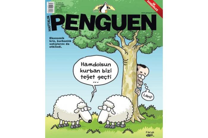 Penguen Dergisi Kurban Bayramı Kapağı