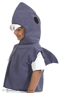 Shark Tabard Kids Costume from Theatrical Threads Ltd