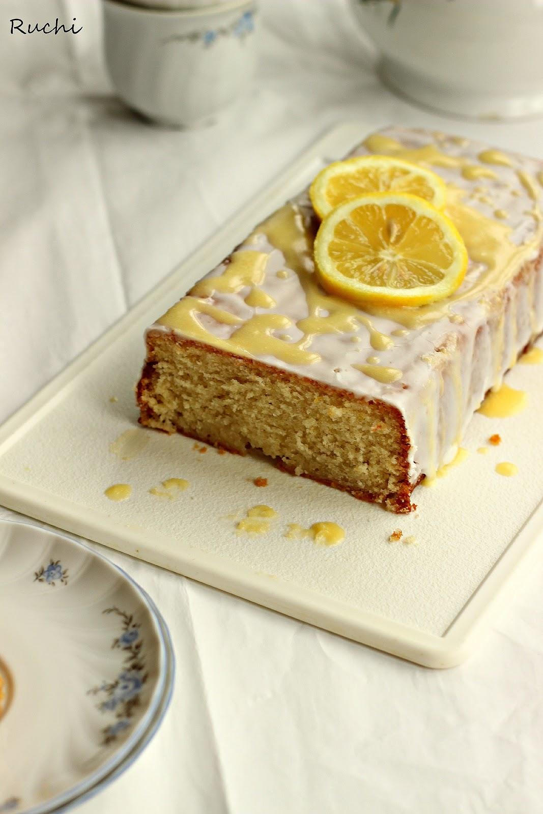 RUCHI: Lemon Cake