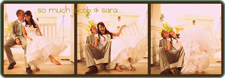 So much Jacob & Sara...