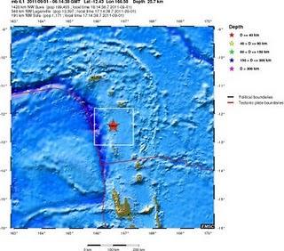 sismo 6,1 grados islas santa cruz 1 de setiembre 2011