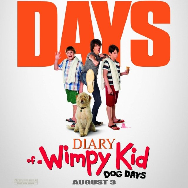 Diary Of A Wimpy Kid Dog Days Movie Watch