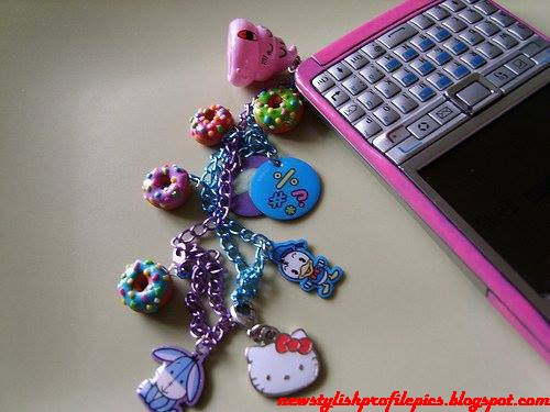 fashionable pretty girly gadgets facebook profile pictures