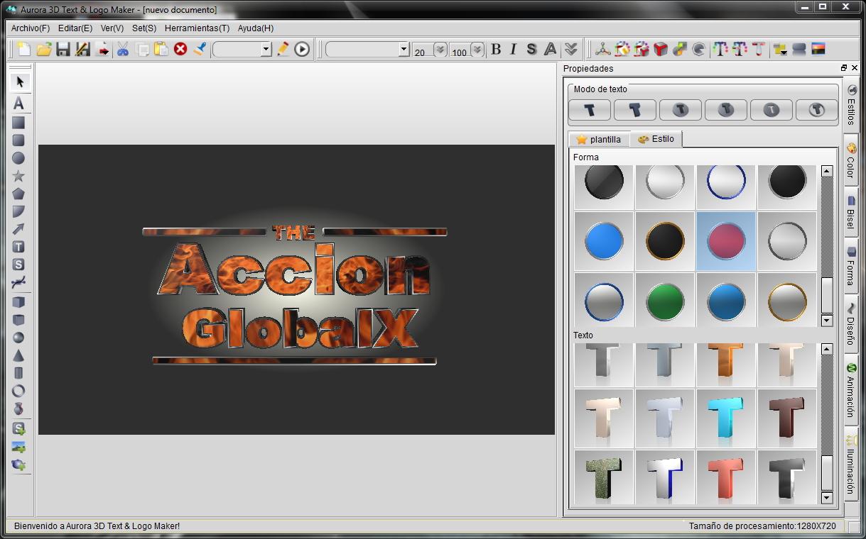Image Aurora 3d Text Logo Maker 13 06 25 Crea Textos Animados Logos Y ...