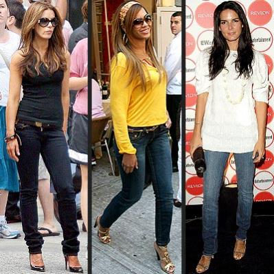 celebrity casual fashion style photos 2012