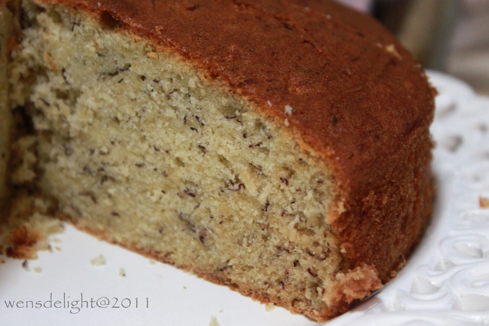 Wen's Delight: Yochana's Banana Cake