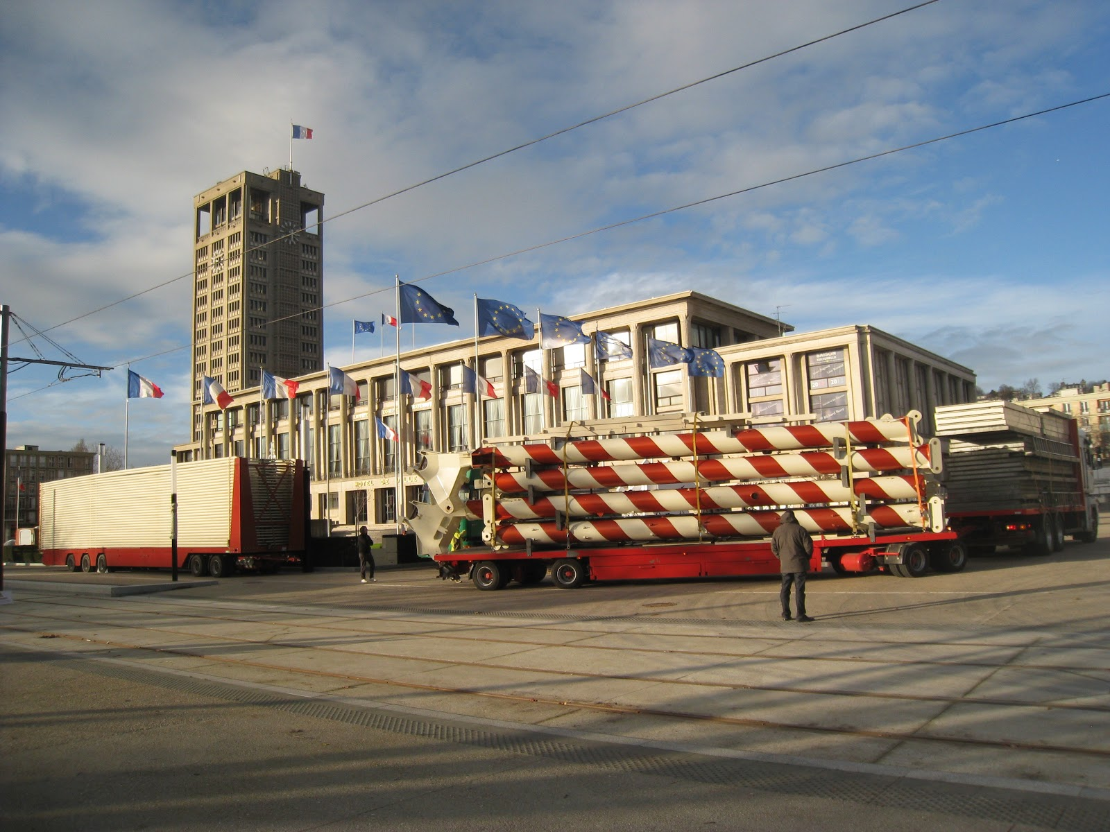 12/12/12 12h12 - Inauguration du tramway Granderoueduhavreplacehoteldeville