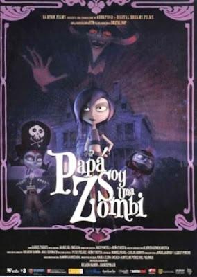 Papá, soy una zombie (2012). pelicula movie poster