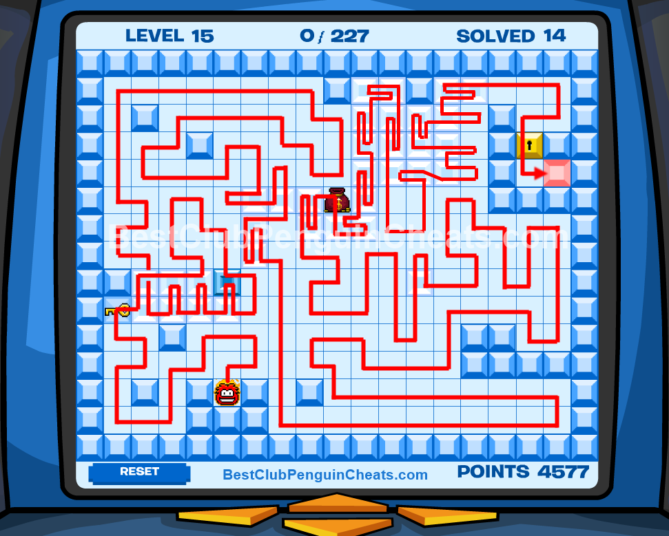Club Penguin Thin Ice Cheats Level 15