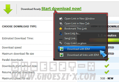 Cara Download File di FileSonic.com Dengan IDM