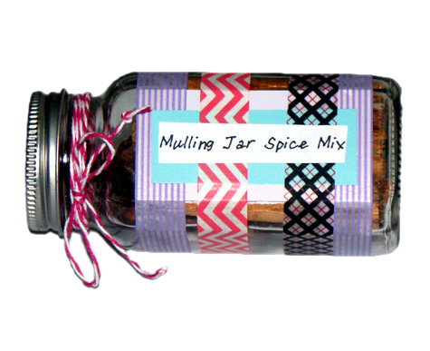 DIY Mulling Spices in a Jar - Homemade Christmas Gift Idea - Great as Handmade Hostess Gifts and Favors