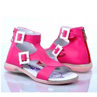 Contoh Sepatu Sandal Anak Perempuan