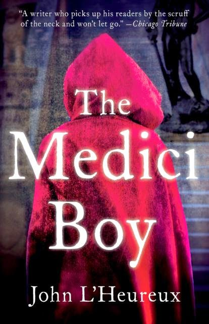http://www.amazon.com/The-Medici-Boy-John-LHeureux/dp/1938231503/ref=tmm_hrd_title_0