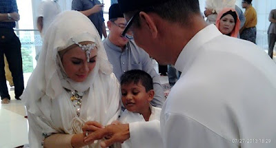 ras adiba radzi kahwin