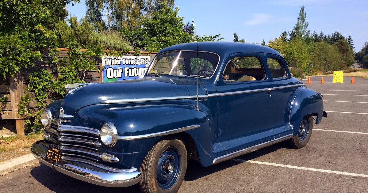 Seattle 39 s classics 1947 plymouth special deluxe coupe for 1947 plymouth 2 door coupe