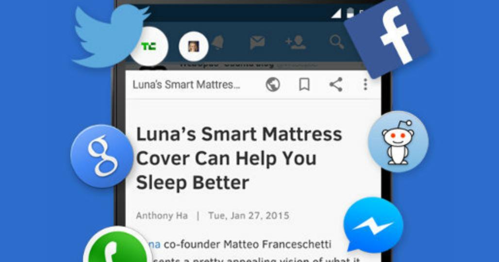 Flynx 手機上的聰明瀏覽器 Link Bubble 免費替代 App