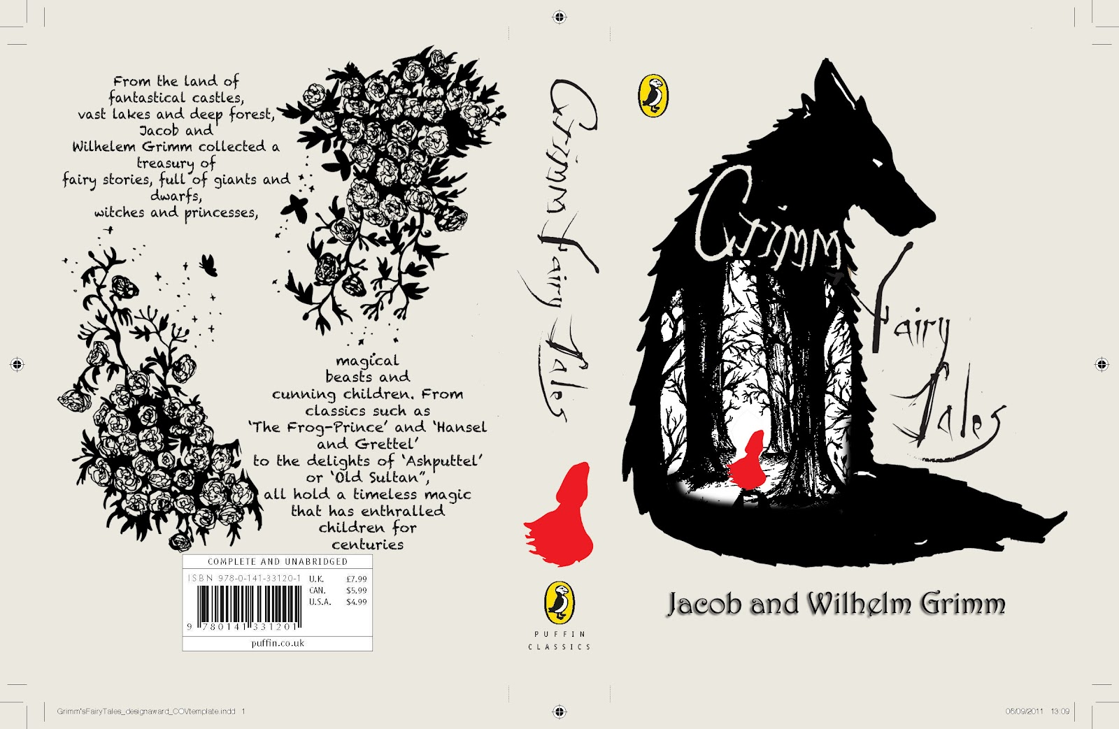Best Book Cover Layout Design ~ Amanda gilbert pdp grimm book cover design