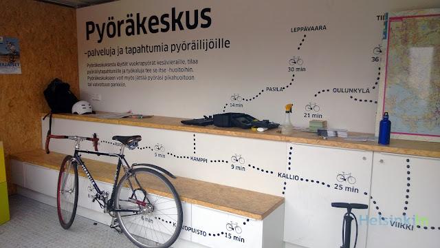 Pyöräkeskus in Helsinki