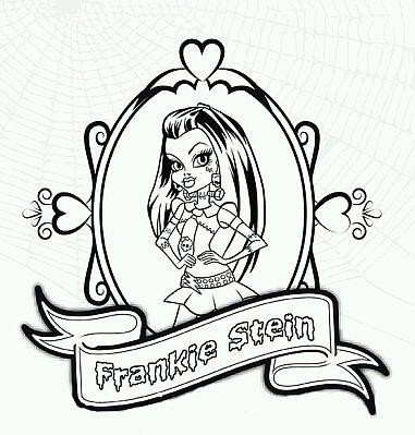 Bonito Frankie Stein Para Colorear Colección de Imágenes - Páginas ...