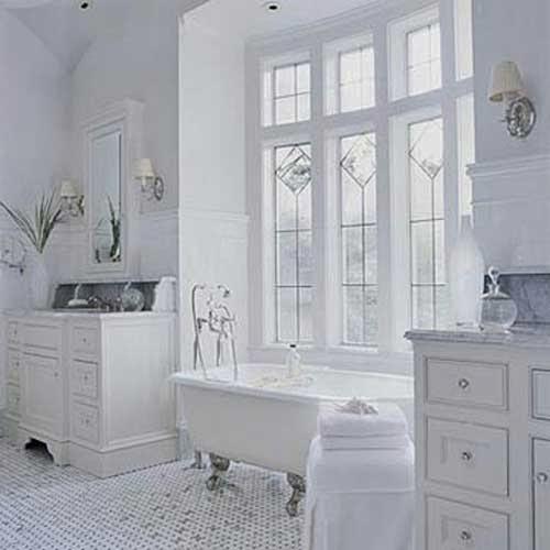 4149 صور حمامات ديكورات و حوائط و تصاميم واكسسوارات حمامات بمساحات كبيرة