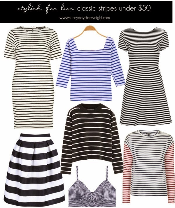 stylish for less stripes